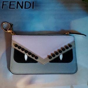 FENDI Monster coin case